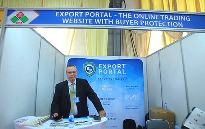 Export Portal Attends World Trade Center, Vietnam Expo
