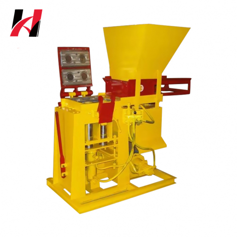 small diesel Vibrating soil hollow cement Laying Block concrete brick Making Machine for sale