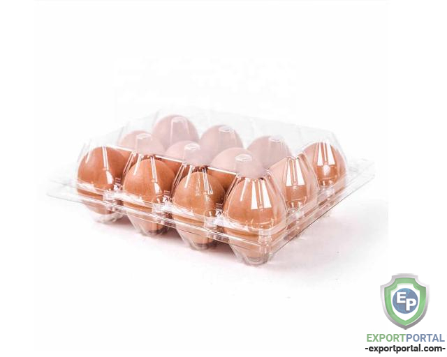 Transparent Egg Packaging Tray