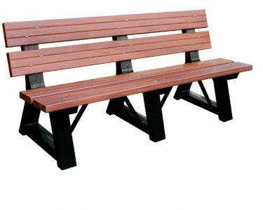 Ecological Plastic Wood Garden Bench